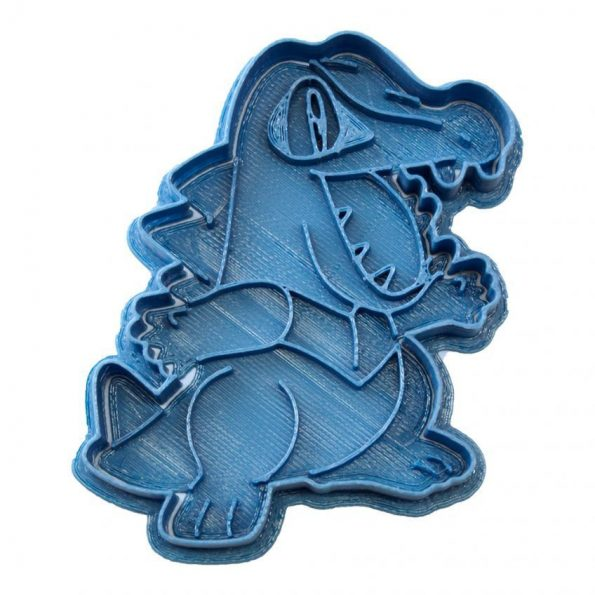 totodile pokemon cookie cutter