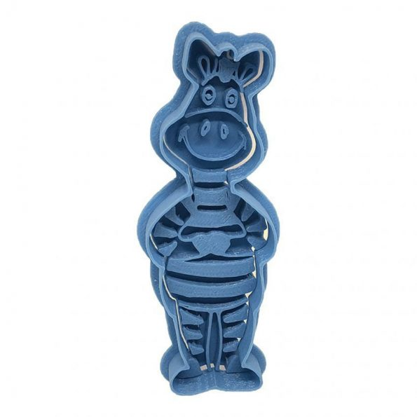 zebra animal cookie cutter