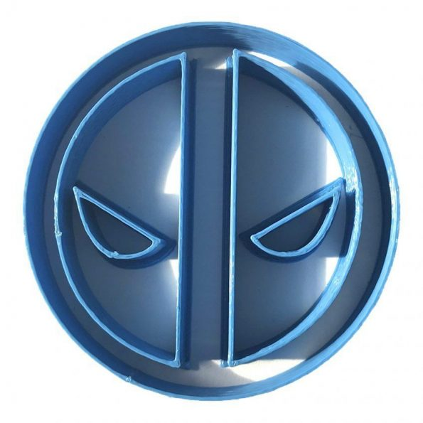 deadpool logo fondant