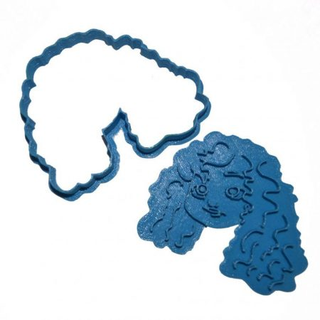 Wreck-it Ralph Merida cookie cutter.