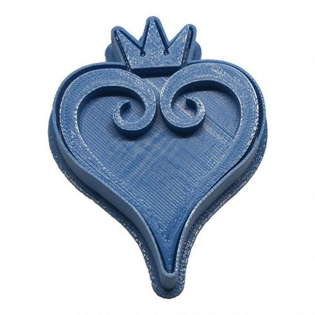 corazon kingdom hearts cortador de galletas