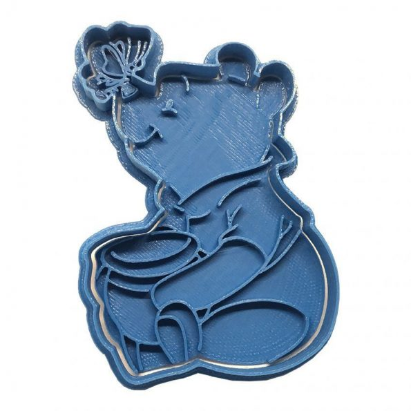 winnit the pooh butterfly cookie cutter