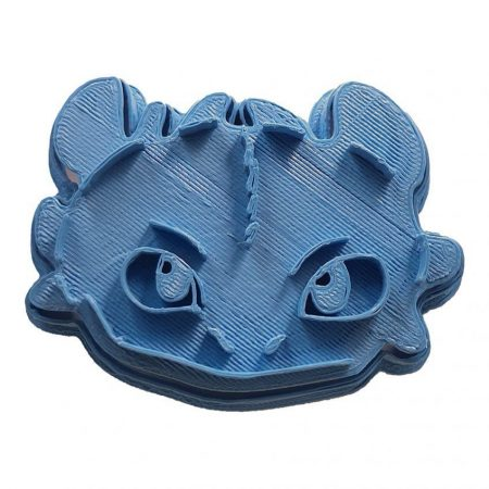 toothless the dragon how to train your dragon cookie cutter