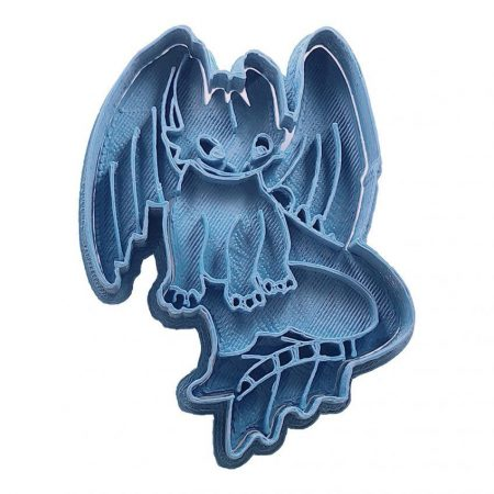 toothless how to train your dragon cookie cutter