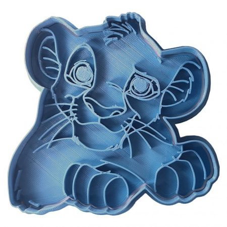 cookie cutter  simba the lion king