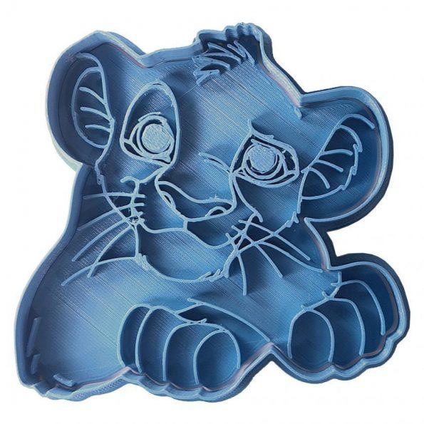 cortador de galletas simba el rey leon