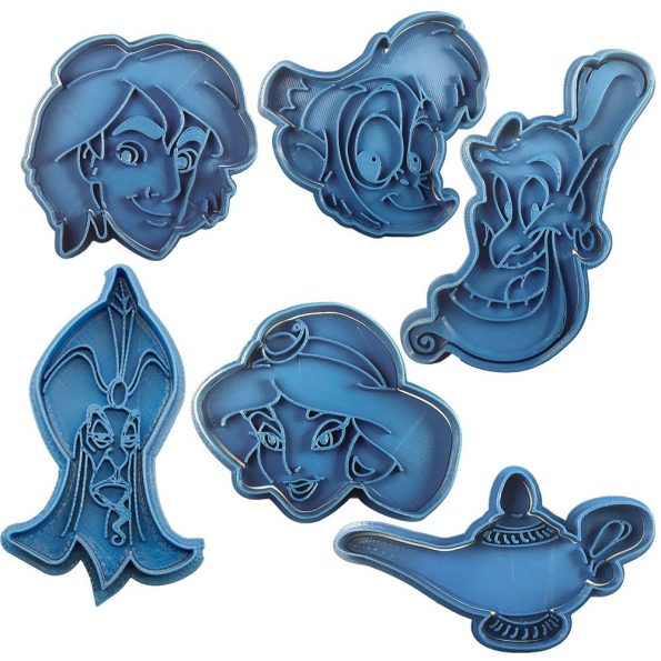 pack aladdin cortadores de galletas disney