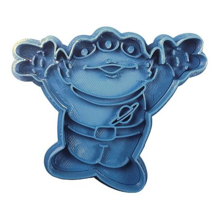 cortador de galletas alien pizza planet toy story