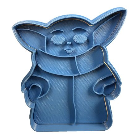 baby yoda body cookie cutter the mandalorian