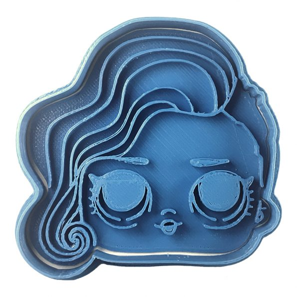 rocker lol surprise cookie cutter