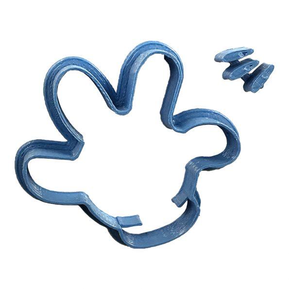 mickey's hand fondant