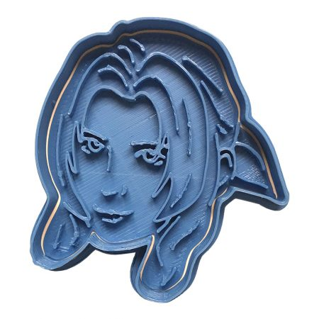 aeris final fantasy cookie cutter