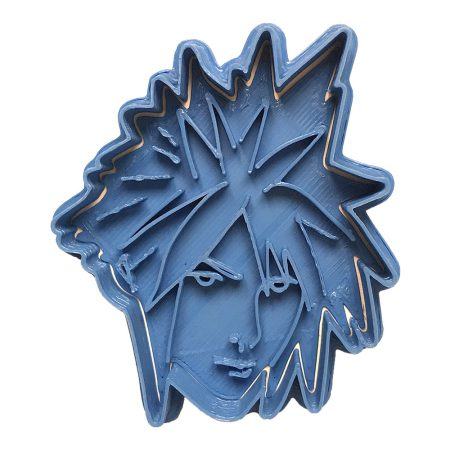 cloud final fantasy vii cookie cutter